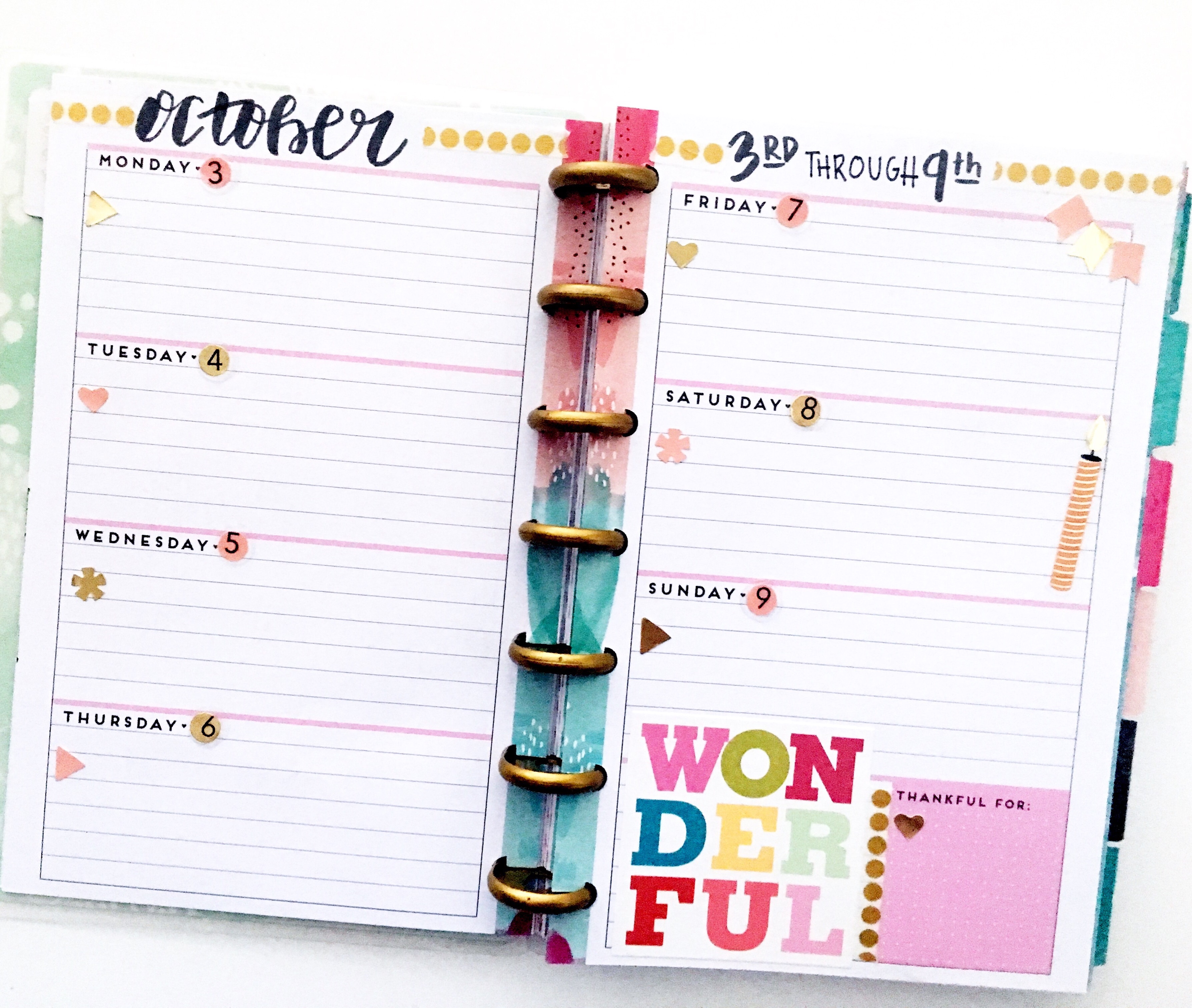 The Happy Planner™- Mini! – Kell of a Good Time